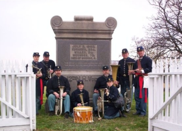 12th NH Regiment Serenade Band Photo